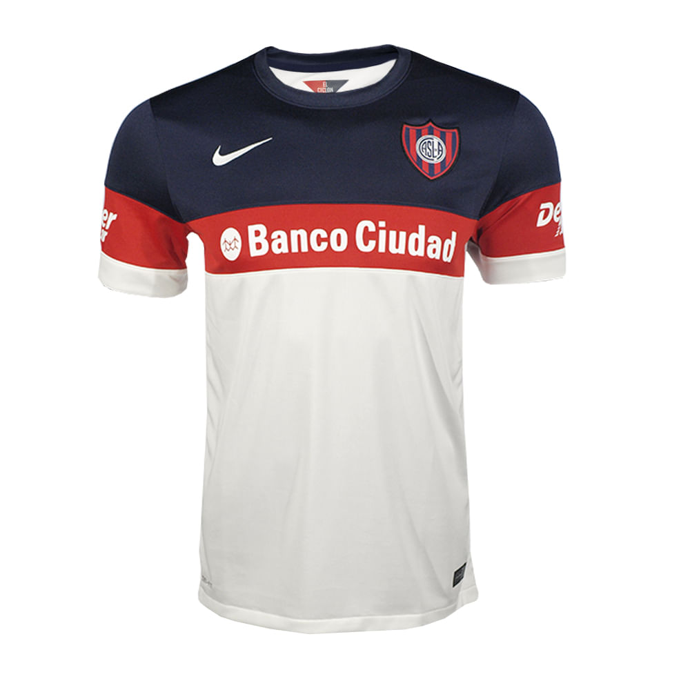 Camiseta Futbol Nike San Lorenzo Suplente 2016 Hombre - ShowSport c214ae835210f