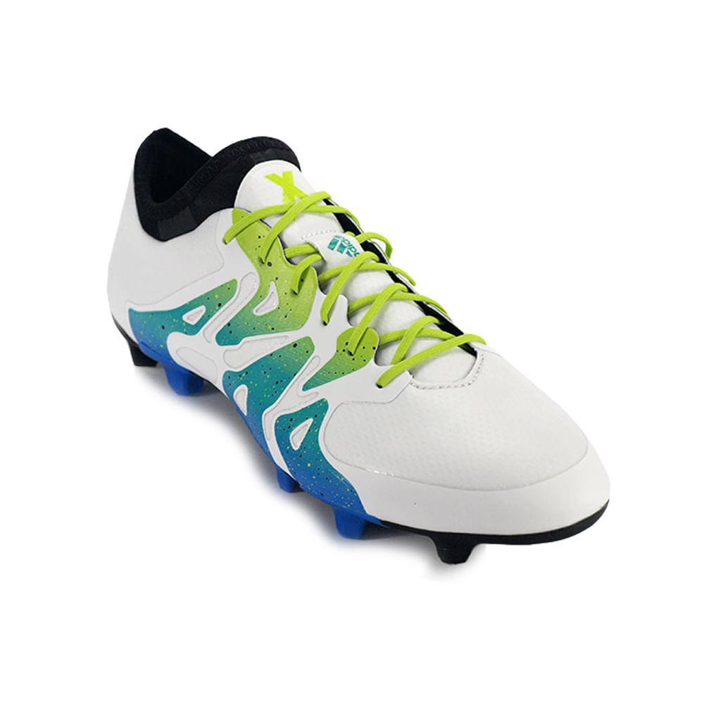 huge selection of 082a0 6d716 Botines De Futbol Adidas X 15.1 Fg Ag Ftwr Hombre