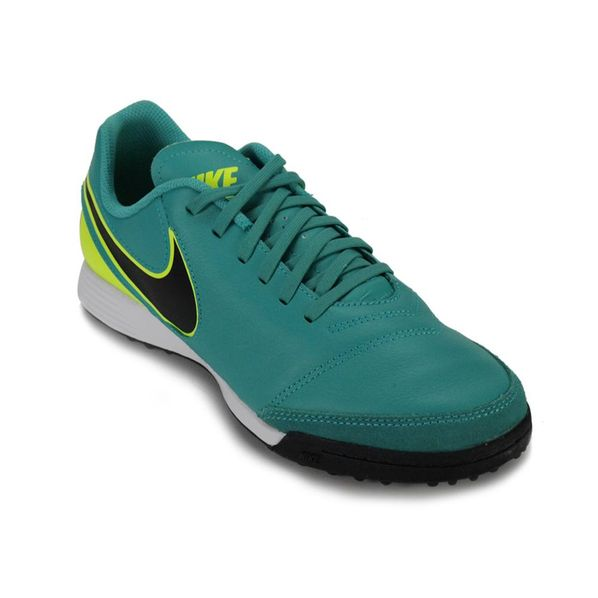 Botines Hombre Tiempo Nike Leather Futbol Botines TF Genio Futbol fwqfrx7