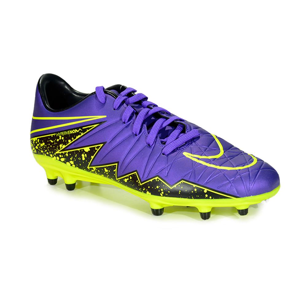 Botin De Futbol Nike Hypervenom Phelon II Fg Hyper Hombre - ShowSport cb2226b1d72fa