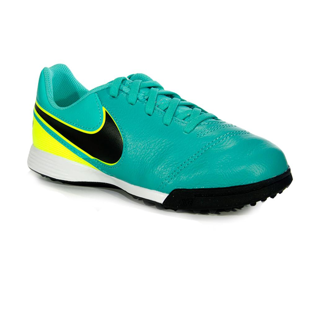 08fd65beb740b Botines De Futbol Nike Jr Tiempo Legend Vi Tf Niños - ShowSport
