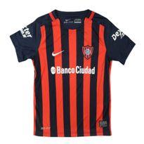 4fb6b74c3 Camiseta Futbol Nike de San Lorenzo 2015 Child Niños