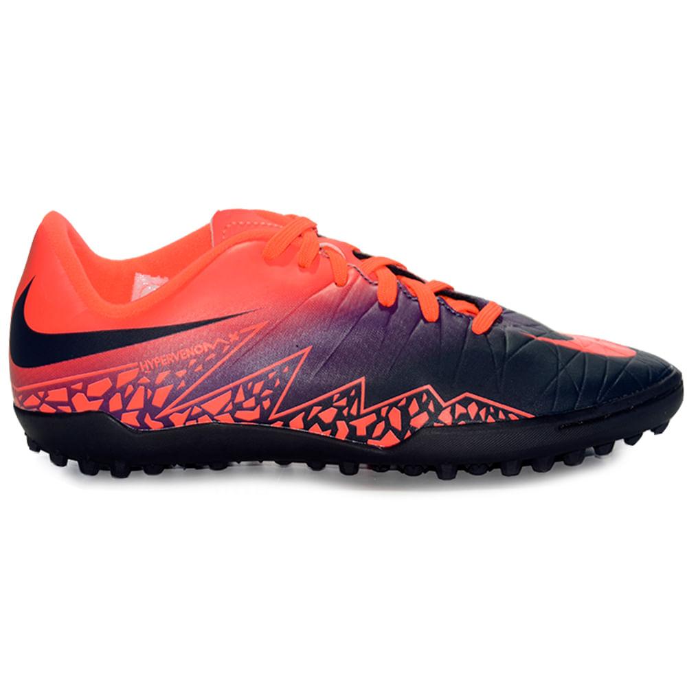 d1d4ae288ae94 Botines Futbol Nike Jr Hypervenom Phelon II Tf Niños - ShowSport