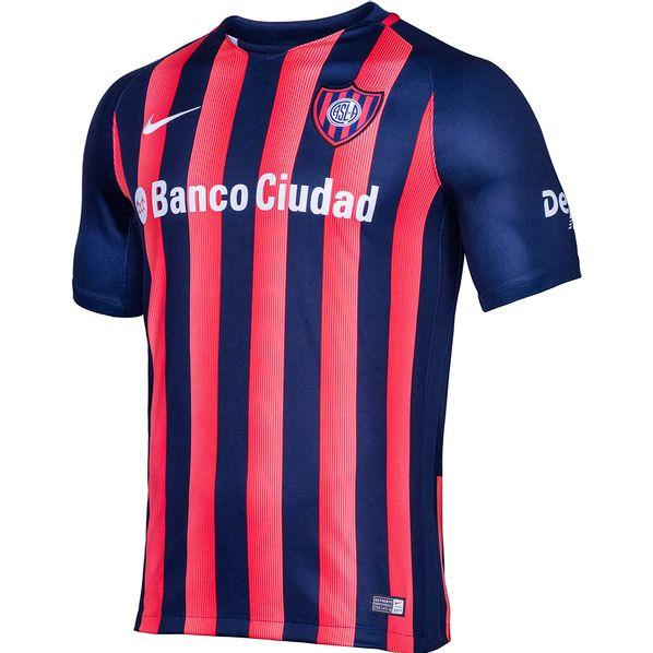 Camiseta Futbol Oficial Nike San Lorenzo Dry Stadium 2017 Hombre ... 9fbed9463cd0f