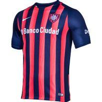 Camiseta Futbol Nike San Lorenzo Alternativa 2016 Niños - ShowSport ef5f31cd14132