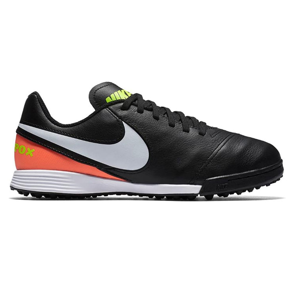 626f1f0cd3c0a Botines De Futbol Nike Jr Tiempo Legend Vi Tf Niños - ShowSport