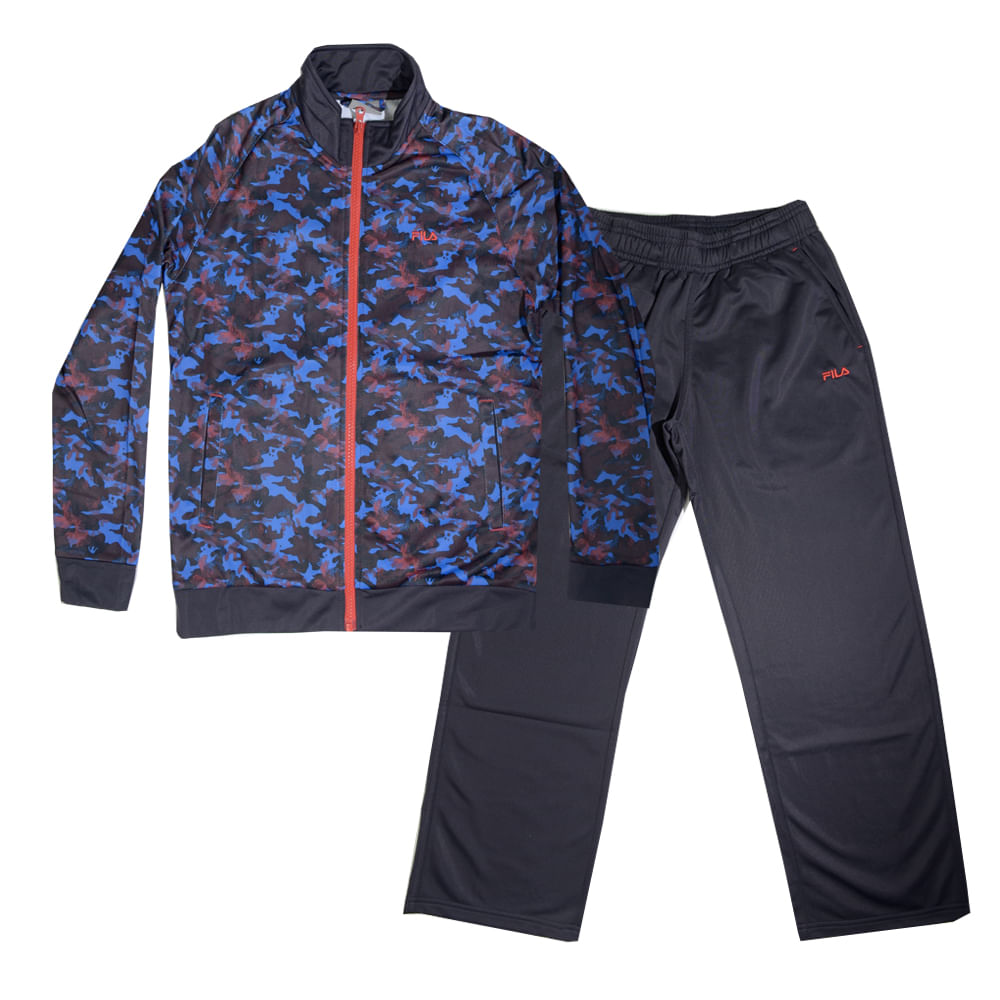 conjunto training fila camo niños - ShowSport 9994afe18edb