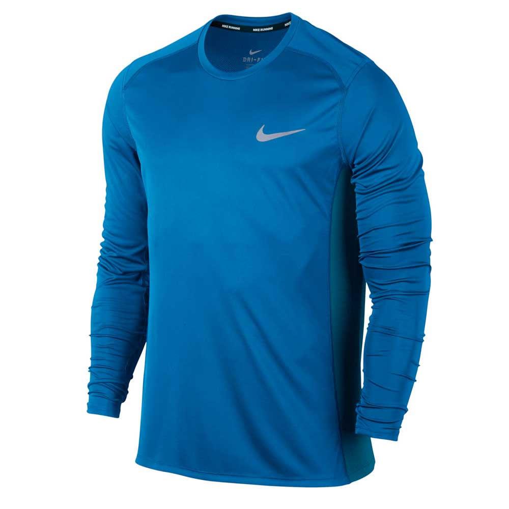 9dee48a3e3eb2 Camiseta Running Nike Mangas Largas Dry Miler Hombre - ShowSport