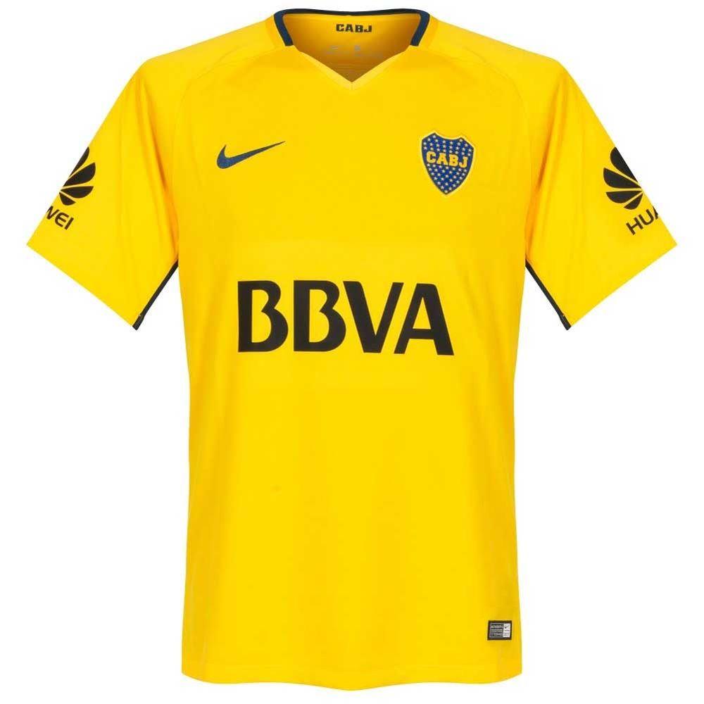 camiseta futbol nike boca away stadium 2017 2018 hombre - ShowSport 9051fd0791d7a