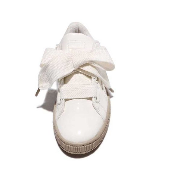 Moda Heart Zapatillas Puma Basket Mujer Patent qwdYzxFUzH
