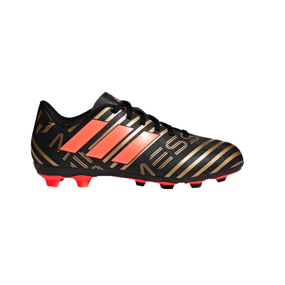 6295eab8ac75a Botines Futbol Adidas Nemeziz Messi 17.4 Terreno Flexible Niños ...