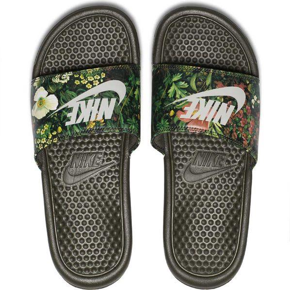 Benassi Print Moda Ojotas Mujer Nike JDI gREwq