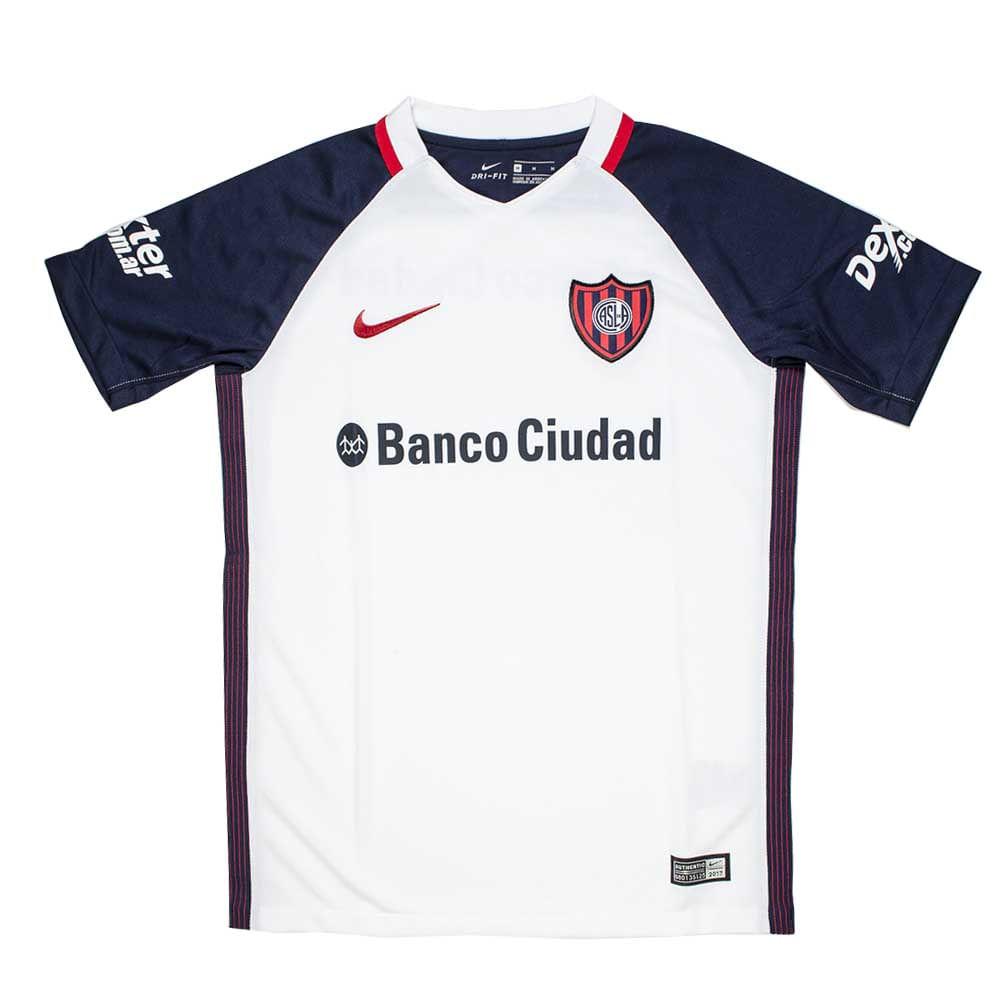 Camiseta Futbol Nike Alternativa San Lorenzo Stadium 2017 Niños ... 3fcbe0c4bc70f
