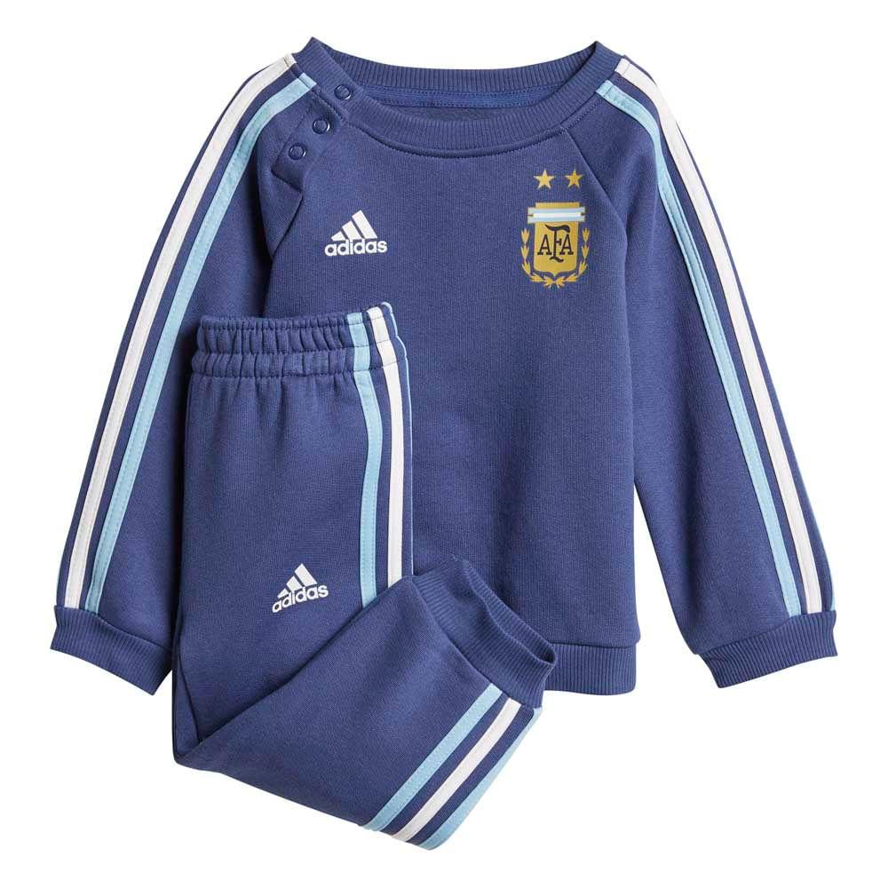 conjunto fútbol adidas selección argentina 3 tiras con puño 2018 bebés 4a94f6446726f