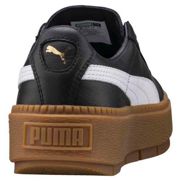 Puma cuero Zapatillas Zapatillas Mujer de Moda Moda Platform Trace zwvtgcqd