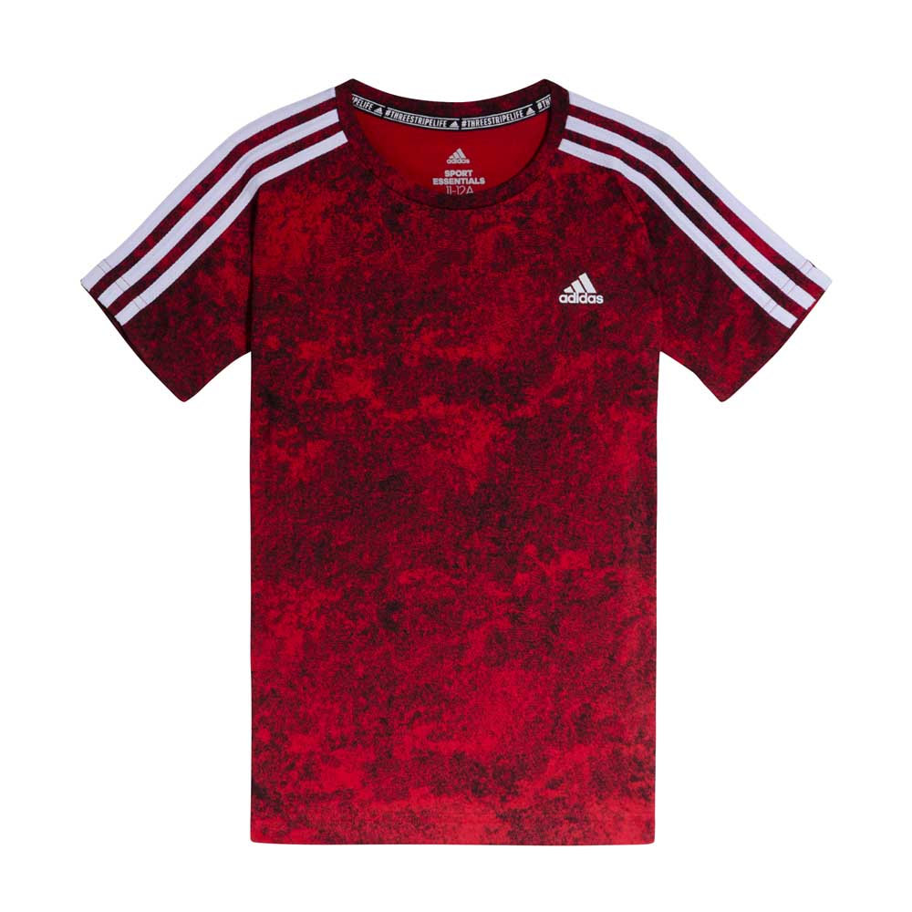 b77f20429e6ea Remera Training Adidas 3 Tiras Niños - ShowSport