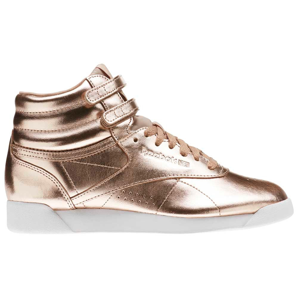 Zapatillas Moda Reebok Classics FreeStyle Hi Metalic Mujer - ShowSport 12ba669682103