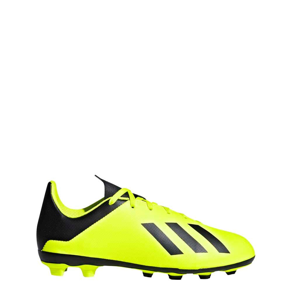 7ff4fd0bbb Botines Futbol Adidas X 18.4 Terreno Flexible Niños - ShowSport
