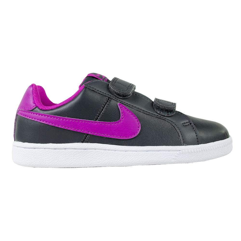 huge discount ca0f6 7fa7e zapatillas nike moda court royale psv niñas