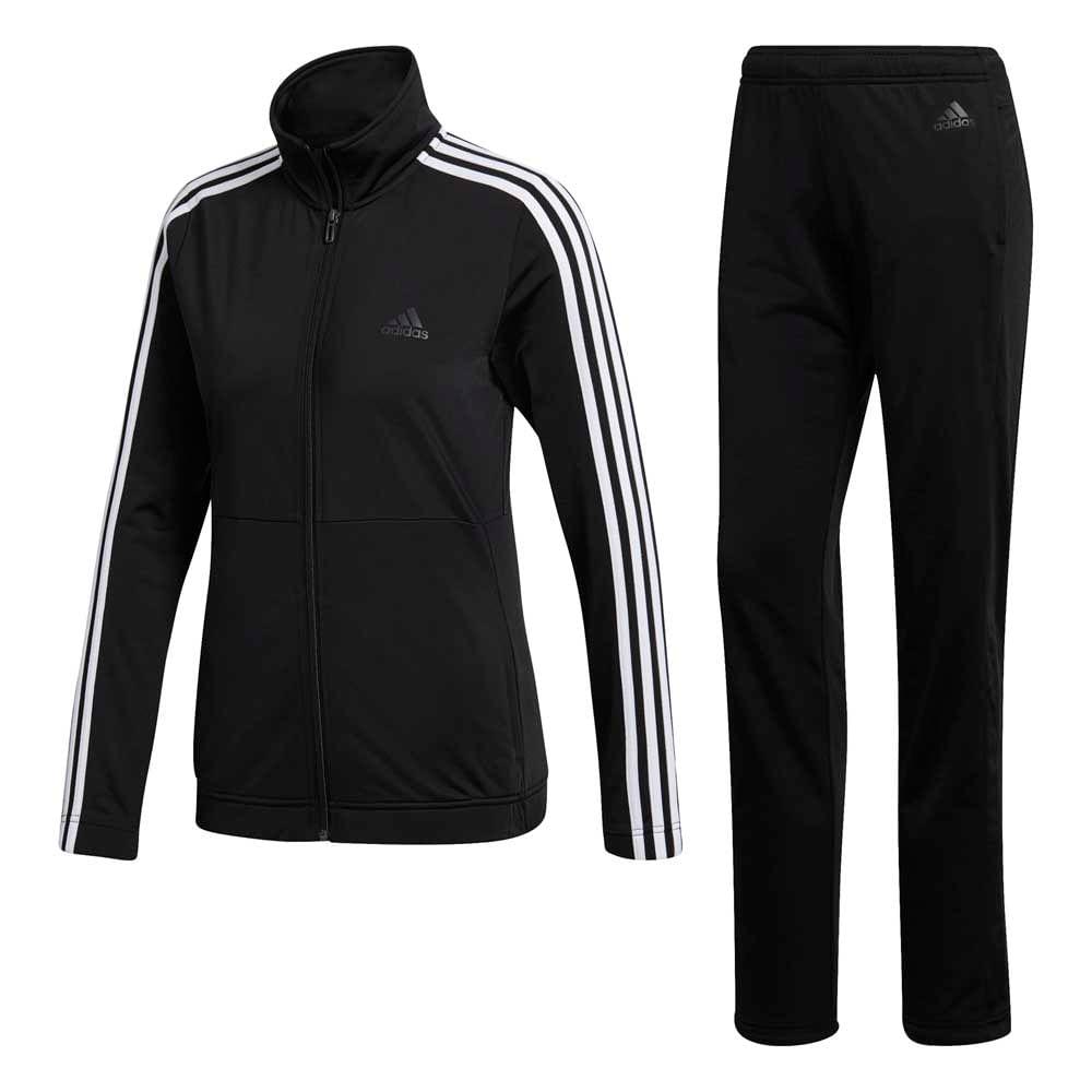 37653f105 conjunto adidas training back 2 basics mujer - ShowSport
