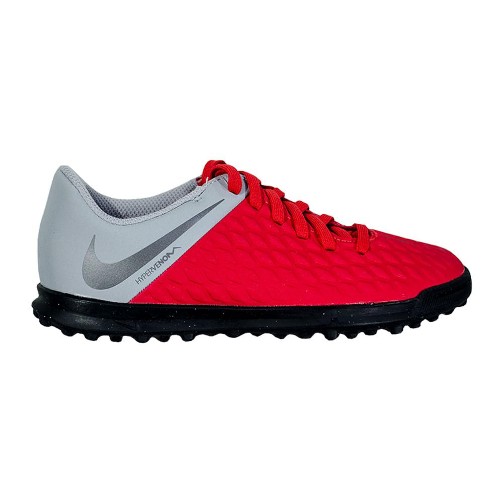 6ece2b4f8 Botines Nike Futbol JR Hypervenom Phantomx TF Niños - ShowSport