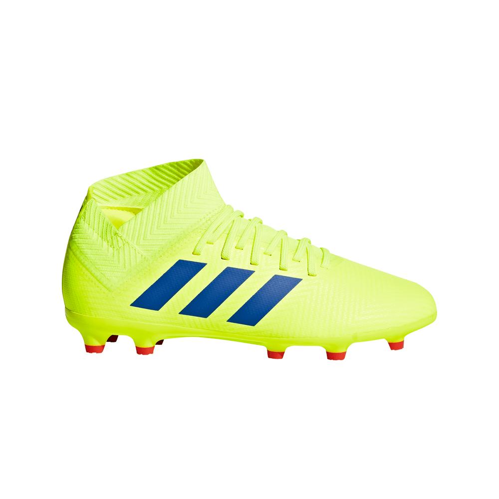 29f64771c0 Botines Adidas Futbol Nemeziz 18.3 Terreno Firme Niños - ShowSport
