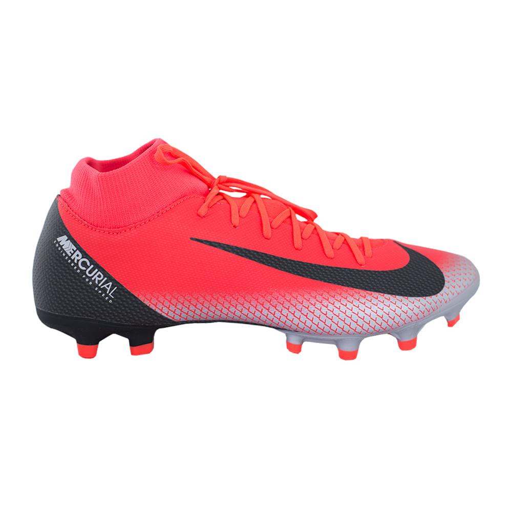 fotos oficiales e2499 9a59c Botines Nike Futbol CR7 Superfly 6 Academy MG Hombre - ShowSport
